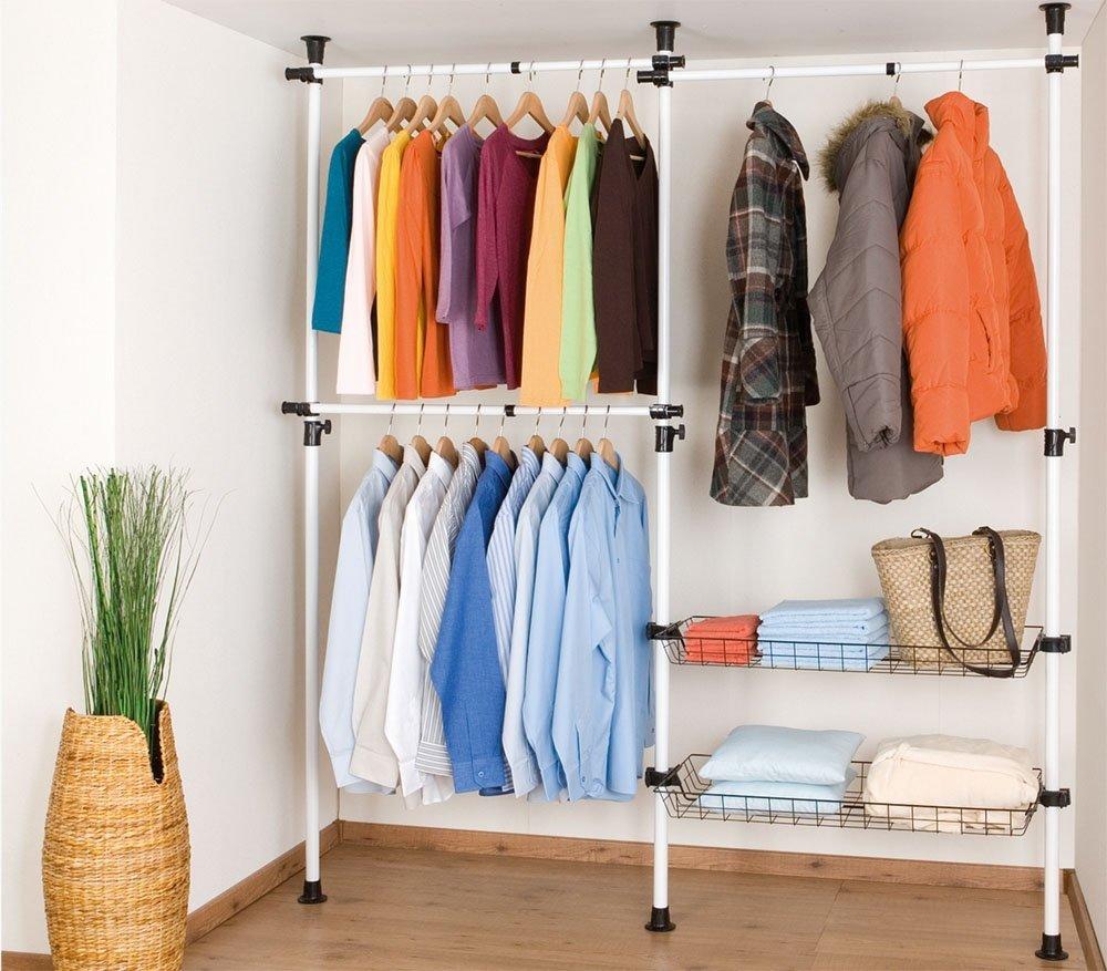 Kleideraufbewahrung selber bauen for Kleideraufbewahrung ideen